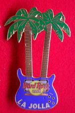 HRC hard rock cafe la jolla Purple Double Neck Guitar Palm