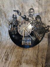 Walking Dead 3 Vinyl Record Clock home decor gift