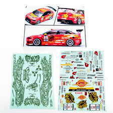 1/10 RC DRIFT Racing Model Body Decal For HSP HPI YUKE'S TIGER EVOLUTION X