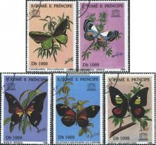 Sao Tome e príncipe 1681-1685 (edición completa) usado 1996 Mariposas