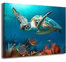 Best Decor Beach Decor Sea Turtle Bathroom Art Beach Bathroom Decor Turtle