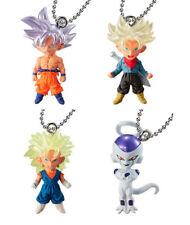 Bandai Dragon Ball Z Super DBZ UDM Best 30 Keychain Figure Goku Trunks 4 pcs