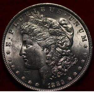 Uncirculated 1889 Philadelphia Mint Silver Morgan Dollar