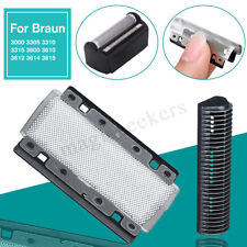 2Pcs 628 Foil + Cutter For Braun Shaver 3000 3305 3310 3315 3600 3610 3612 3614