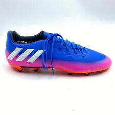 Adidas Mens Messi 16.3 FG Soccer Cleats Blue Pink Gradient Shoes BA9021 11.5 New