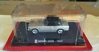 "DIE CAST "" HONDA S800 - 1967 "" SCALA 1/43 AUTO PLUS + BOX 1"