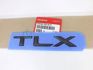 Acura TLX 2018-2020 Carbon Fiber Emblem Trunk Lid Badge OEM Nameplate Letters