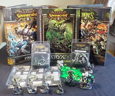 Warmachine/Hordes Painted Cyrx Army Lot w/ Cards, Tokens & Books