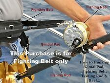 Jaws Ultimate Fighting Belt reel Harness for Big game Jigging Fishing Rod size M