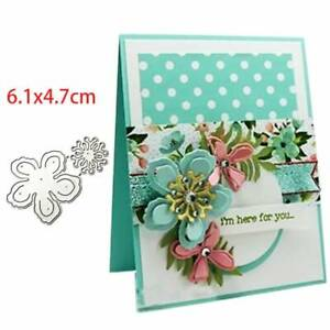 Flowers DIY Metal Cutting Dies Stencil Scrapbooking Album Paper Card Embossing