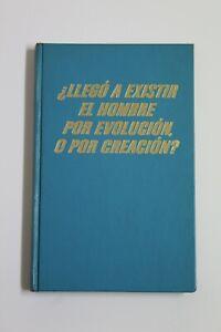 Book Will I Get A Exist El Man Por Evolucion, Or Making? Cover Hard, Year 1968