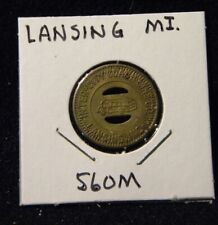 Token MI Lansing 560M Inter City Coach Line Co Good for one fare