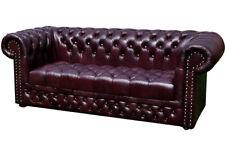 Chesterfield 3 Sitzer mit Bettfunktion Sofa Couch Polster Garnitur Couchen Neu!