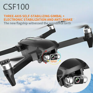 CSF100 GPS Drone 4K HD Camera 3-axis Gimbal Brushless 5G WIFI FPV RC Quadcopter