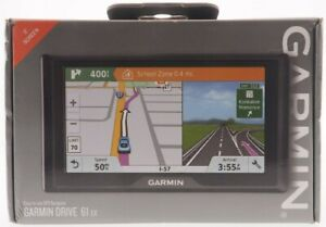 "👀 Garmin Drive 61 EX GPS 6"" Screen Navigation W/ Alerts BRAND NEW FREE SHIP 👀"