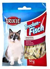 12 Stück Trockenfisch für Katzen 12 x 50 g Sparpack, 0,88 EUR/Packung