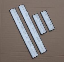 Stainless Steel Auto Door Side Sill Scuff Protector Plates Fit for Corolla 14-15