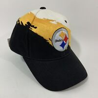 Pittsburgh Steelers Ball Cap Reebok One Size Fits All NFL Cap Hook and Loop NWT