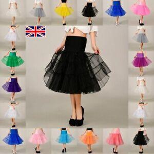 """RULTA Rockabilly 26"""" Retro 50s Swing Vintage Fancy Underskirt NET Petticoat N1"""