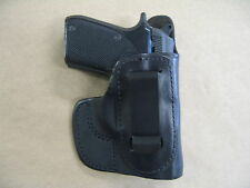Beretta Tomcat 32 IWB In Waistband Leather Concealed Carry Holster CCW BLACK RH