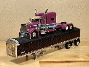 Dcp 1/64 Peterbilt 379 Mid Roof Big Rigs #4 Limited Edition Semi Truck Farm Toy