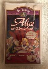 Walt Disney's Masterpiece Collection Alice In Wonderland VHS #036; NIB RARE