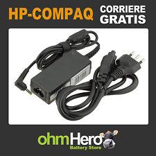 Alimentatore 19,5V 2,05A 40W per HP-Compaq Mini 110