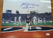 Mark Bavaro signed 11x14 photo NY Giants Super Bowl 21 Champs JSA coa