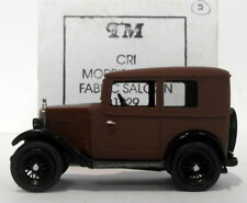 Top Marques 1/43 Scale - 1929 Morris Minor Fabric Saloon - Brown