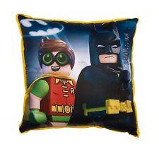 Stampa TELA speciali LEGO BATMAN MOVIE Quadrato Cuscino Cuscino Ragazzi Bambini Camera Da Letto