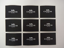 Lot of 9 Coach Receipt Gift Card Envelopes New Unused