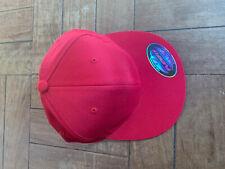 Flexfit FLAT Cap RED NEW LARGE EXTRA LARGE XL L SIZE