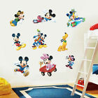 Wall Sticker Decal Mickey and Minnie Mouse Kids Room Decor Mural Nursery New