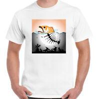 Fish Pollution Mens Environmental T-Shirt Political Ocean Plastic Global Warming