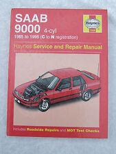 SAAB 9000 1985 - 1995 4-CYL 1686 HAYNES SERVICE & REPAIR MANUAL