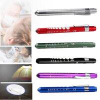 LED Flashlight Medical First Aid Pen Light Torch Doctor Nurse EMT Emergency Lamp