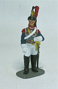 From Russia, Dismounted Trooper, Cuirassier, with Sword, Napoleonic era
