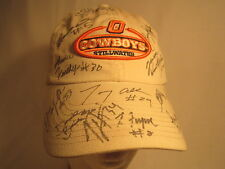 Men's Cap AUTOGRAPHED Oklahoma State COWBOYS 2000 Size: Adjustable [Z164f]