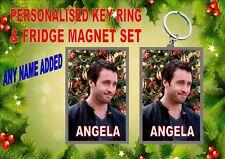 Alex O'loughlin Christmas Key Ring & Fridge Magnet Gift Set Secret Santa Gift