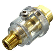 "1/4"" BSP Mini In-Line Oiler Lubricator for Pneumatic Tool & Air Compressor Pipes"