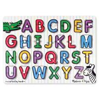 Melissa & Doug See-Inside Alphabet Peg Puzzle
