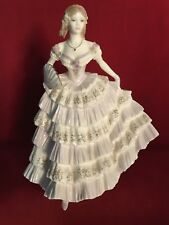 "ROYAL WORCESTER PORCELAIN FIGURINE  ""Belle Of  The Ball """
