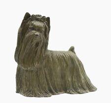 Marcia Van Woert Bronze Yorkie Yorkshire Terrier Signed and Numbered 7/100