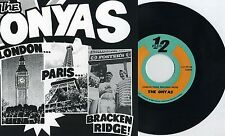 "Onyas - London...Paris...Bracken Ridge... 7"" JAPAN PRESS Cosmic Psychos OZ Punk"