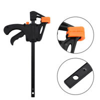 7.5inch F-type Wood Working Clip Plastic Clamp Grip Working Tool Release Clamp