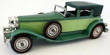Matchbox 1930 Duesenberg J No Y-4 Models of Yesteryear grün metallic MOY Oldi