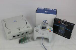 SEGA Dreamcast Spielekonsole | PAL | HKT-3030 | Zubehörpaket | 1x Controller