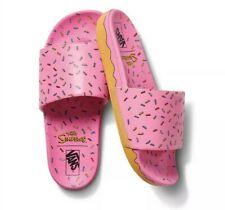 Vans Simpsons Slide on Donut Sandals Men's Size 4 Women's 5.5 NEW Slides