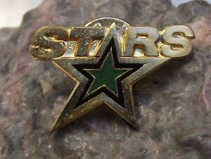 Dallas Stars Pre 2013 NHL USA Ice Hockey League Team Emblem Tie Pin Jacket Badge