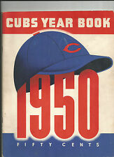 1950 CHICAGO CUBS YEARBOOK MLB